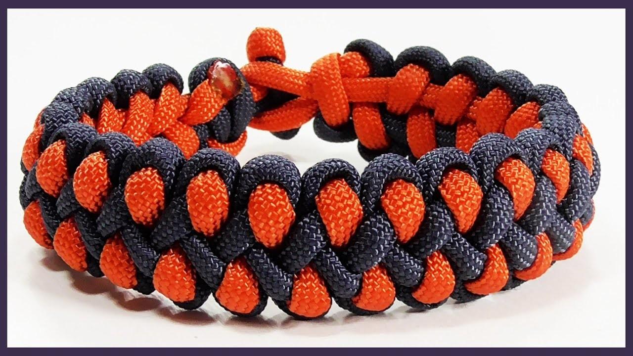 Paracord Bracelet Tutorial: Dragon Claw Bracelet Design