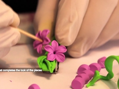Polymer Clay Flowers Collection by Robert Chtchyan