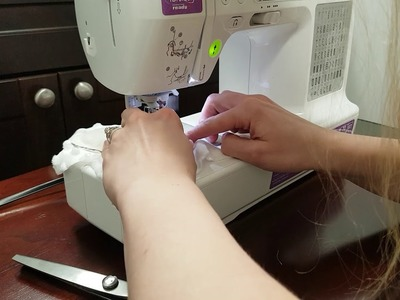 Sewing Booties, how to make the hidden seam