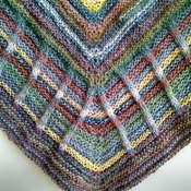 Brighten Up Your Day Shawl