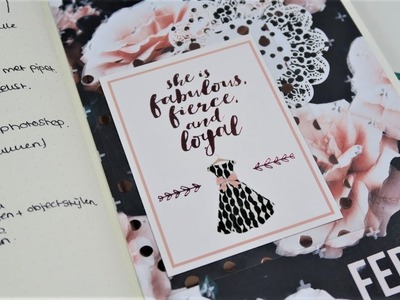BUJO PLAN WITH ME ~ Update, February spreads, The Planner Society kit