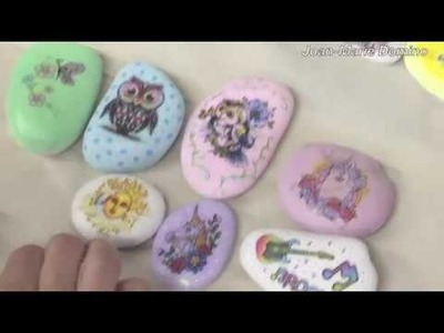 Decoupage Tattoos on Rocks with Joan-Marie Domino | #4.1