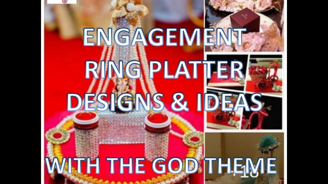 Engagement Ring Platter Ideas Diy Best Designs For Ring Platter With God Theme