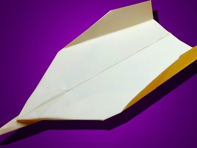 How to make a Sif FIGHTER JET Paper Airplane that Flies Far