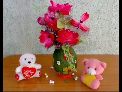 How to make paper flowers pot newspaper easy at home it self mightylinksfo