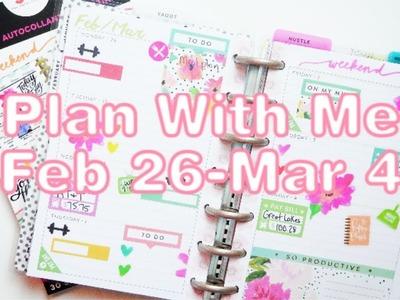 Plan With Me | Feb 26-Mar 4 | Seasonal Mini Happy Planner