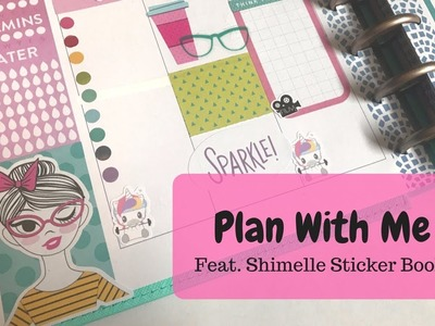 Plan With Me | March 5-11 | Shimelle Sticker Book | Classic Happy Planner