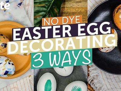 3 Ways for No Dye Easter Egg Decorating | Evite DIY ????