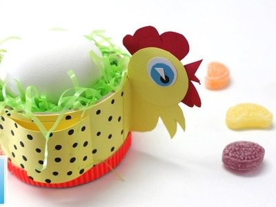 Art and Craft Ideas How to Make the Best Easter Egg Holder for Kids
