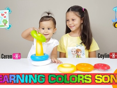 Ceylin-H | Learning Colors Song - Little Babies Learn Colors with Finger Family Song nursery rhymes