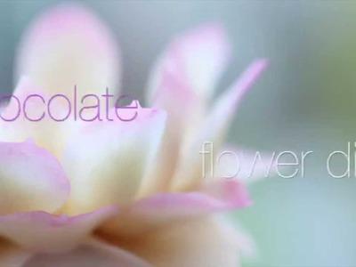 Chocolate flower: Lotus VIDEO TUTORIAL by ChokoLate (TRAILER)