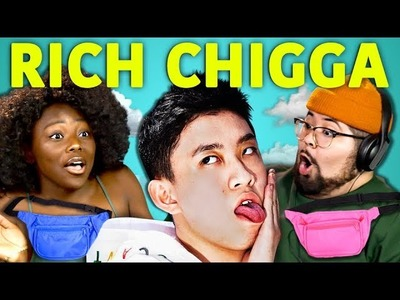COLLEGE KIDS REACT TO RICH CHIGGA