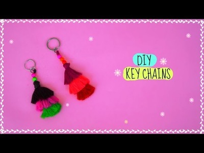 DIY Key Chains | How to make tassel key chains