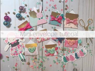 DIY mini envelopes | Tutorial