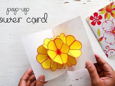 DIY Pop-up Flower Card