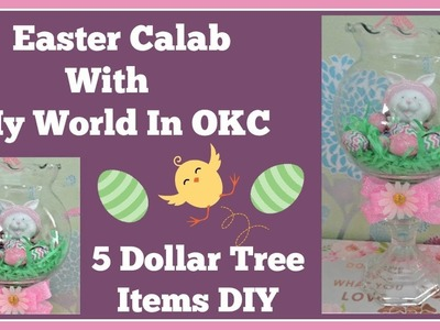 Easter Collab 5 Dollar Tree items with My World In OKC