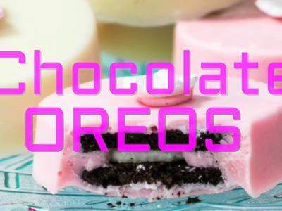 Easy Chocolate Covered Oreos Recipe {DIY}