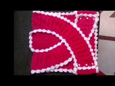 Easy Designer Baby Jacket | No Stiching | Cardigan Jacket