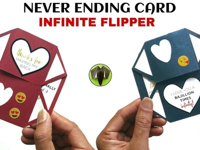 Infinite Flipper | Never Ending card - DIY tutorial - 896