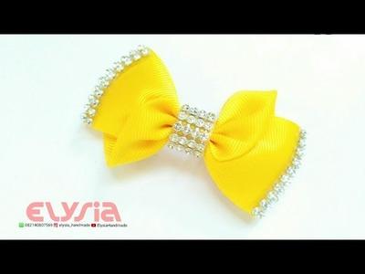 Kansazhi Hair Bow - Ribbon Bow | DIY by Elysia Handmade