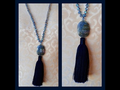 Knotted Tassel Necklace - Must Know Monday 3.19.18