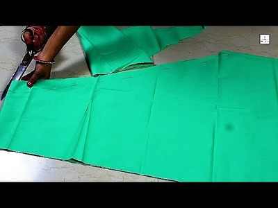 Narrow Salwar Cutting, Salwars cutting  in hindi, How to make Salwars