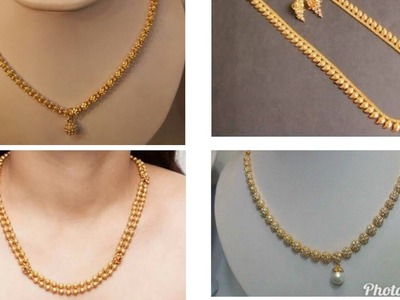 Simple Gold Chain Designs in 10 Grams Weight