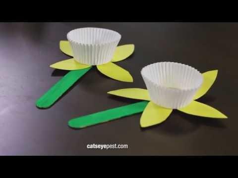 Spring Crafts for Kids: DIY Paper Flower Craft