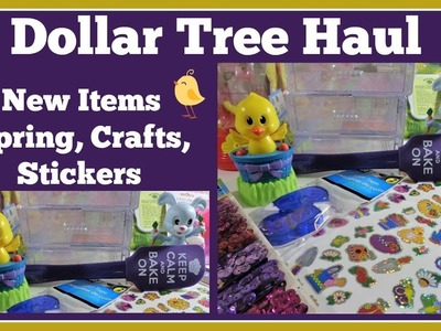 Spring Dollar Tree Haul ???? New and  Craft items