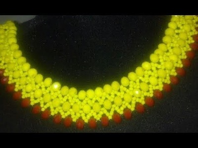 The tutorial on how to make this beautful beaded jewelry