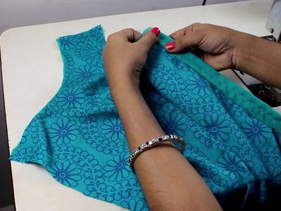 ड्रेस मै जिप लगाने का सबसे आसान तरीका , How to stitch zipper on dress, How to sew a zipper