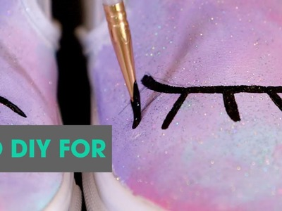Unicorn Shoes EASY DIY | TO DIY FOR