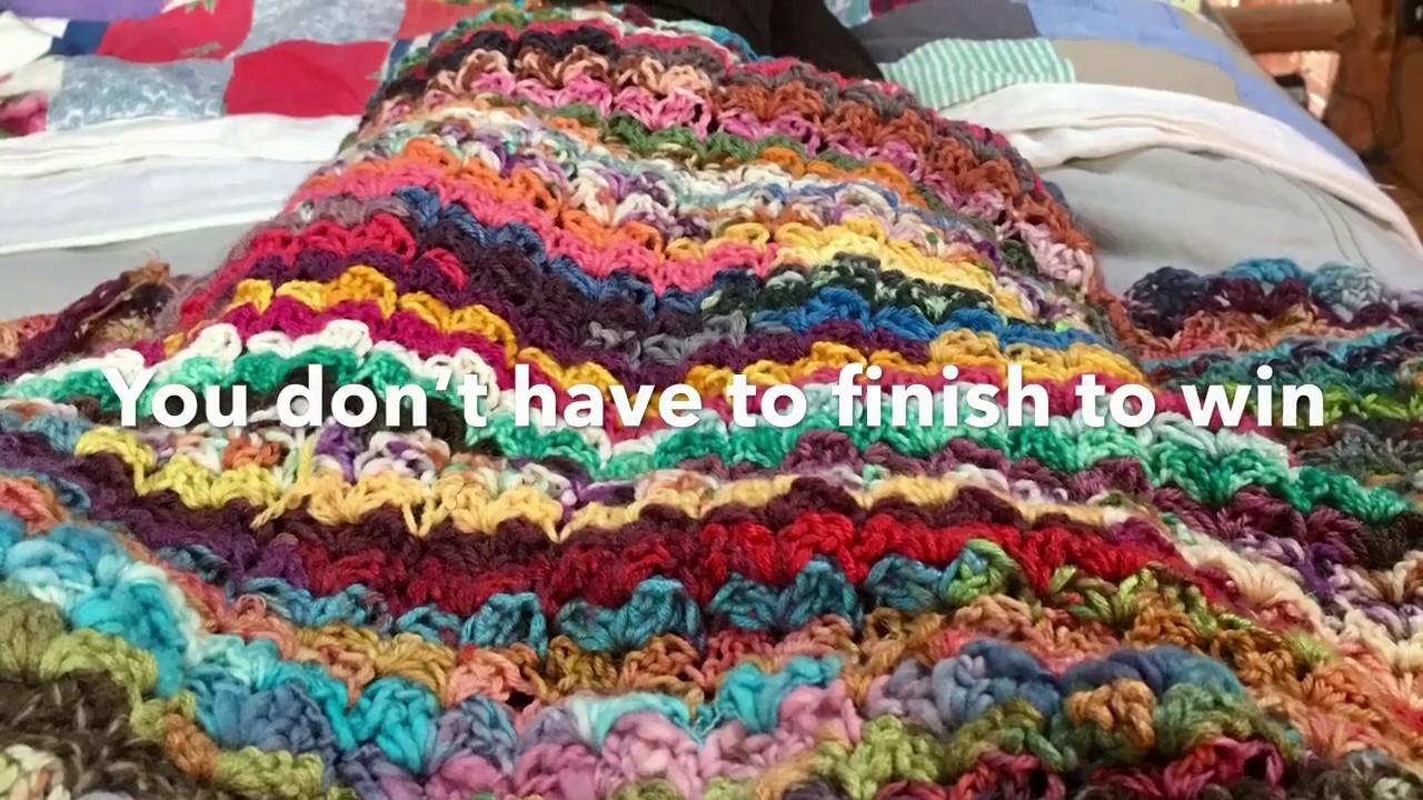 CAL by The Autumn Acorn Knits - Hydrangea Stripe Scrappy Blanket Crochet-a-Long