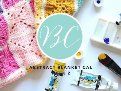 CROCHET ALONG: Abstract Blanket Week 2 | Bella Coco