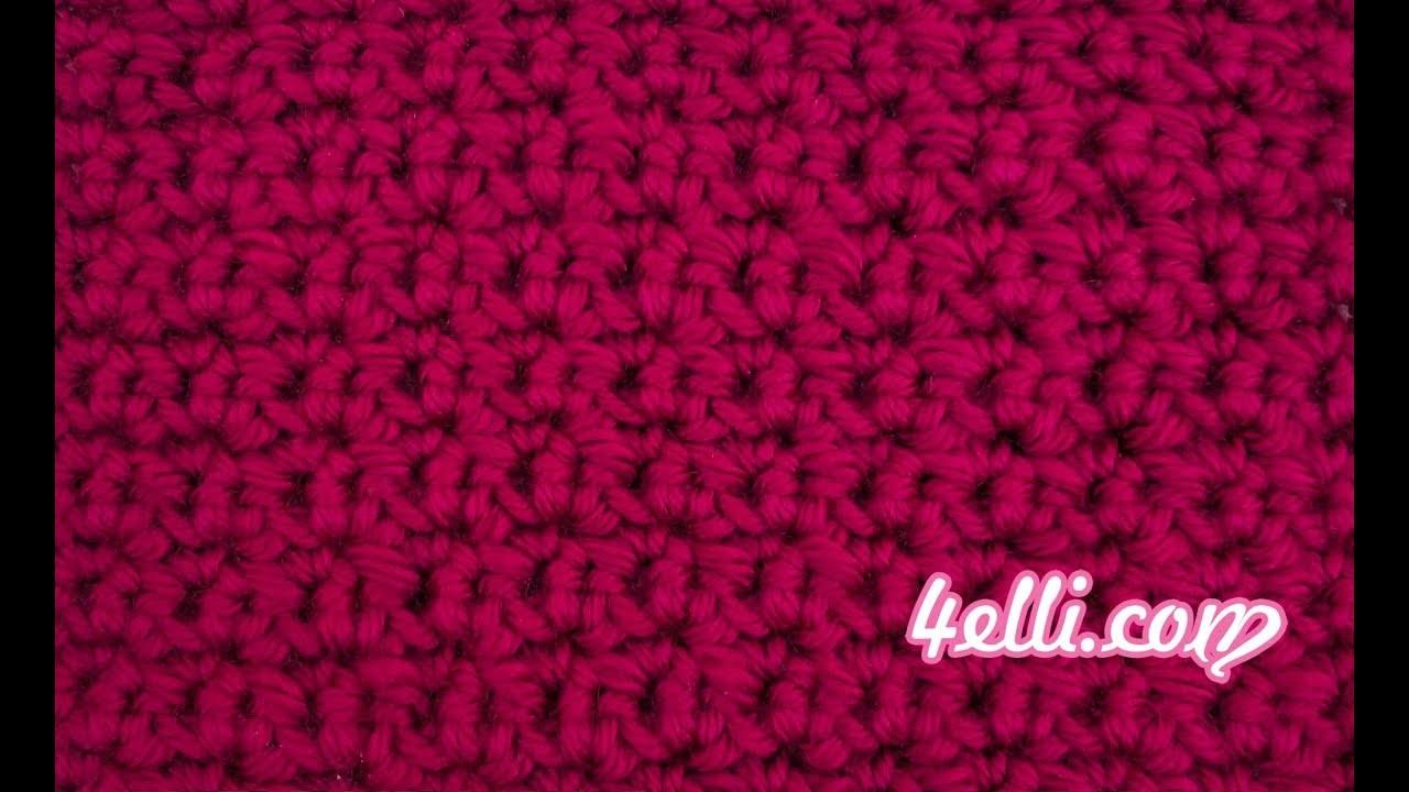 Crochet Alternate Stitch - Left Hand Tutorial (EN)
