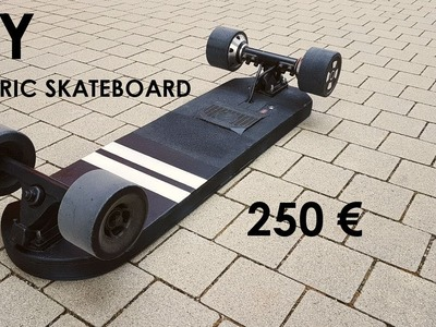 DIY ELECTRIC SKATEBOARD with no visible electronics and Meepo board parts. Tutorial Part 2