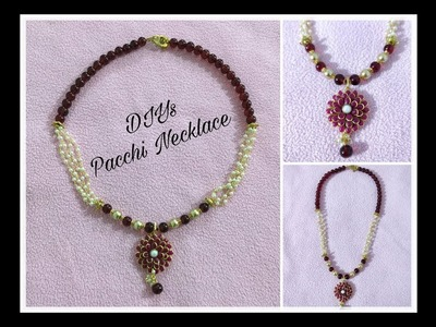 DIYs Necklace | Pacchi Necklace | Learn How To Make Beautiful Necklace