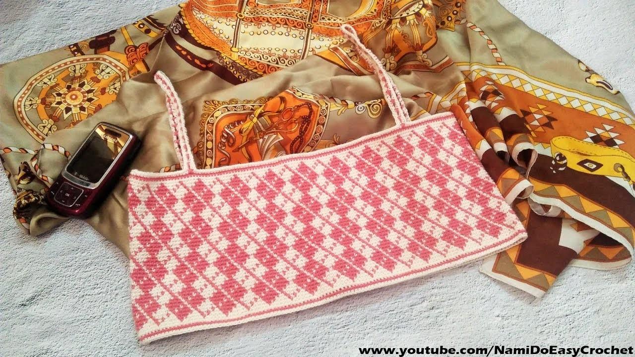 Easy Crochet for Summer: Crochet Crop Top #04