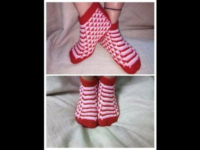 Easy knitting socks for women\girls|hindi
