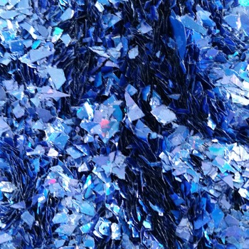 Holographic Blue Cellophane Glitter Flakes Bag Glitter Flakes Cellophane Flakes Iridescent Flakes Nail Mylar Flakes Christmas Snow