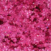 Holographic Pink Cellophane Glitter Flakes Bag Glitter Flakes Cellophane Flakes Iridescent Flakes Nail Mylar Flakes