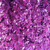 Holographic Purple Violet Cellophane Glitter Flakes Bag Glitter Flakes Cellophane Flakes Iridescent Flakes Nail Mylar Flakes
