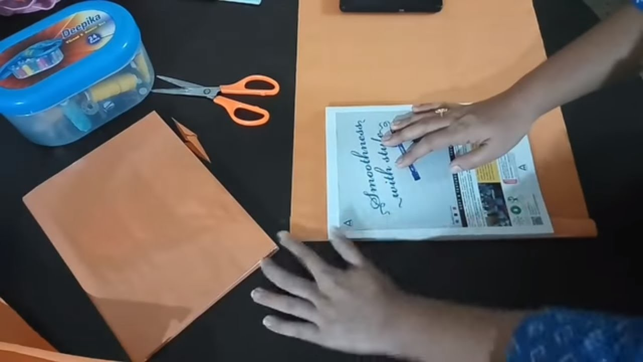 How to cover school books |notebook, how
