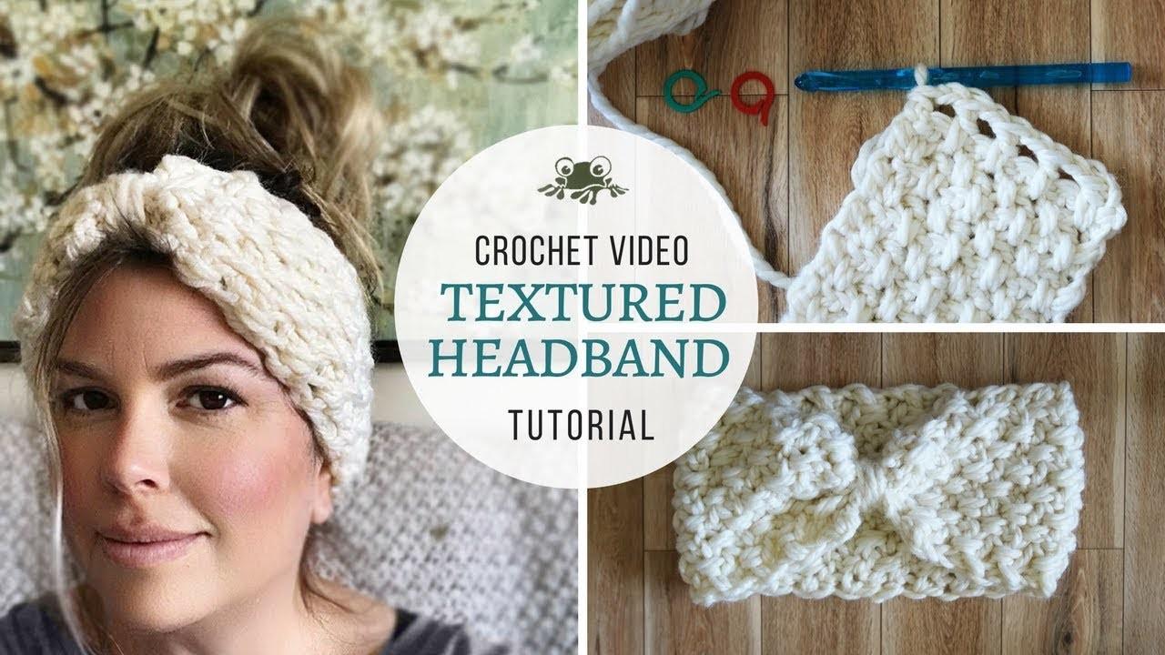 How To Crochet Headband
