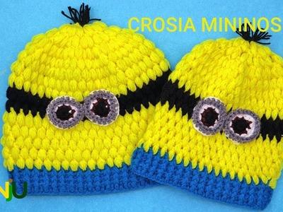 How to Crochet Minions Cap