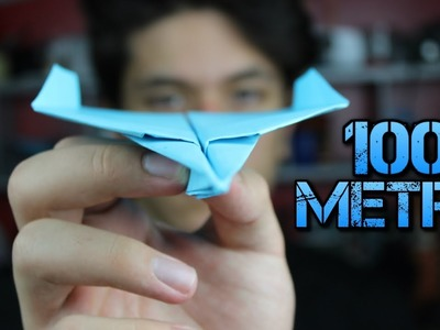 How To Make A Paper Airplane That Can Fly Over 100 Meter