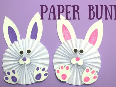 How to Make a Paper Bunny | Easy Easter Crafts for Kids