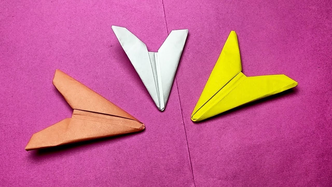 How To Make A Paper Arrowhead Origami Ninja Weapons Easy Paper