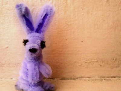 How to Make a Pipe Cleaner Rabbit ????