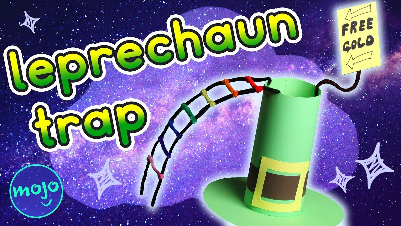 How to Make a St. Patrick's Day Leprechaun Trap - Crafty Cloud